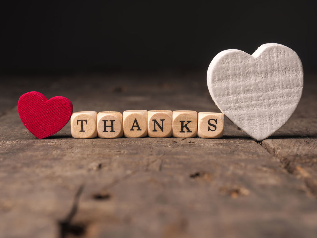Thanks Close-up Communication Day Dices Heart Shape Heart Shapes Indoors  Love Love Message No People Red Symbol Text Thank You Thanks  Western Script Wooden Dices Word