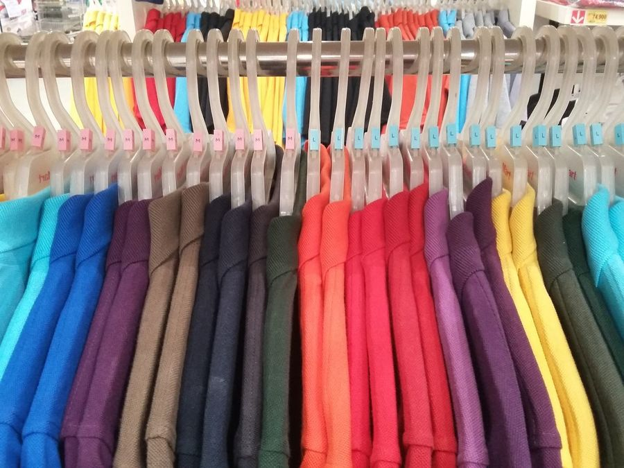 Everything In Its Place Clothes Clothing Shirts Shirt Colorful Supermarket Shopping Fabric Wear Inside The Store Clothing Store Store No Filter Fashion Fashion Photography Showcase March