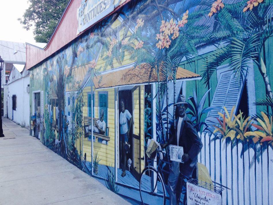 Street art in Keywest Florida USA ArtWork