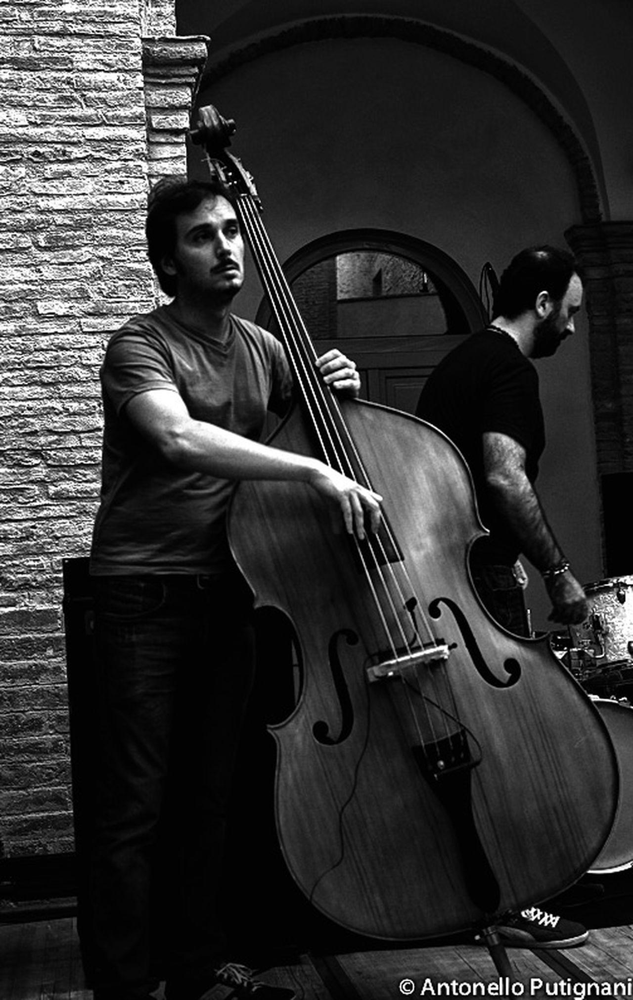 Jazz Jazz Concert Contrabass Blackandwhite Shooting Jazzband