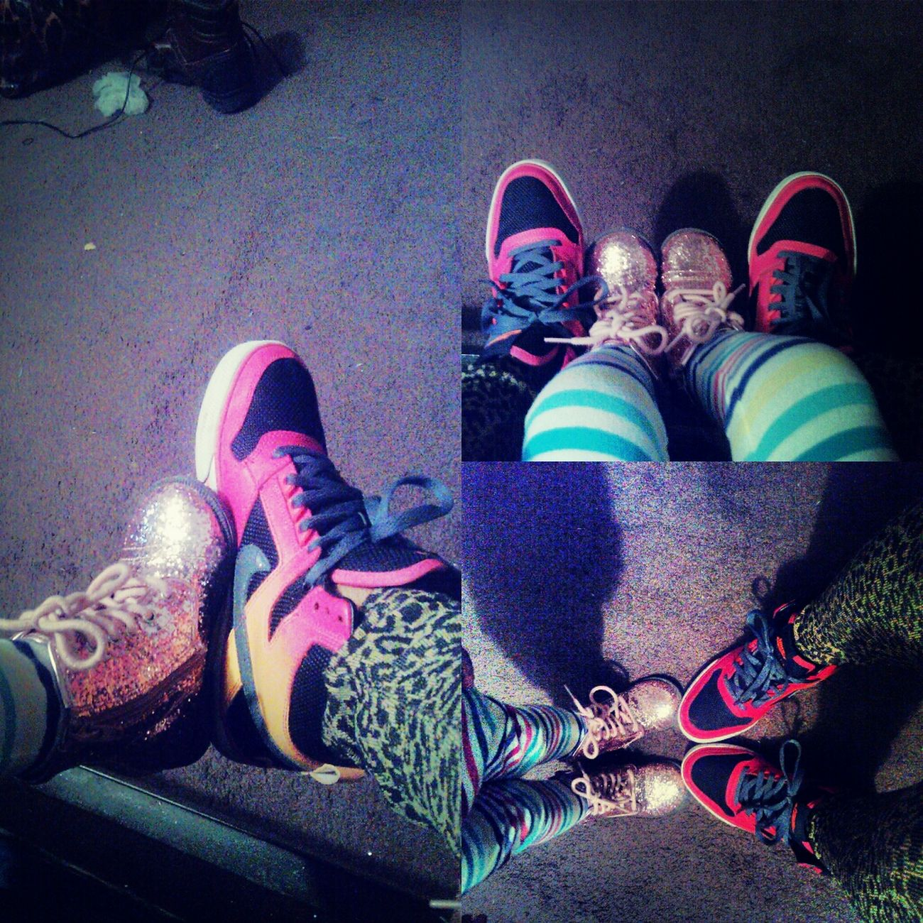 The Princess And My Mid Top Kicks Are,better Than Yours =)