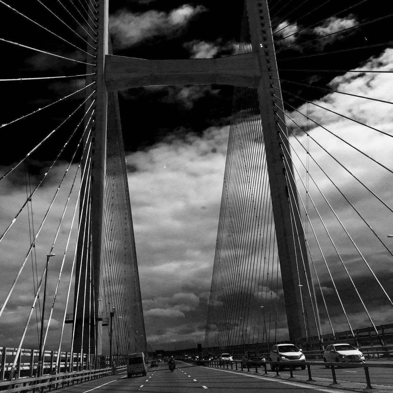 Wales❤ Leaving Home Black And White Bridges