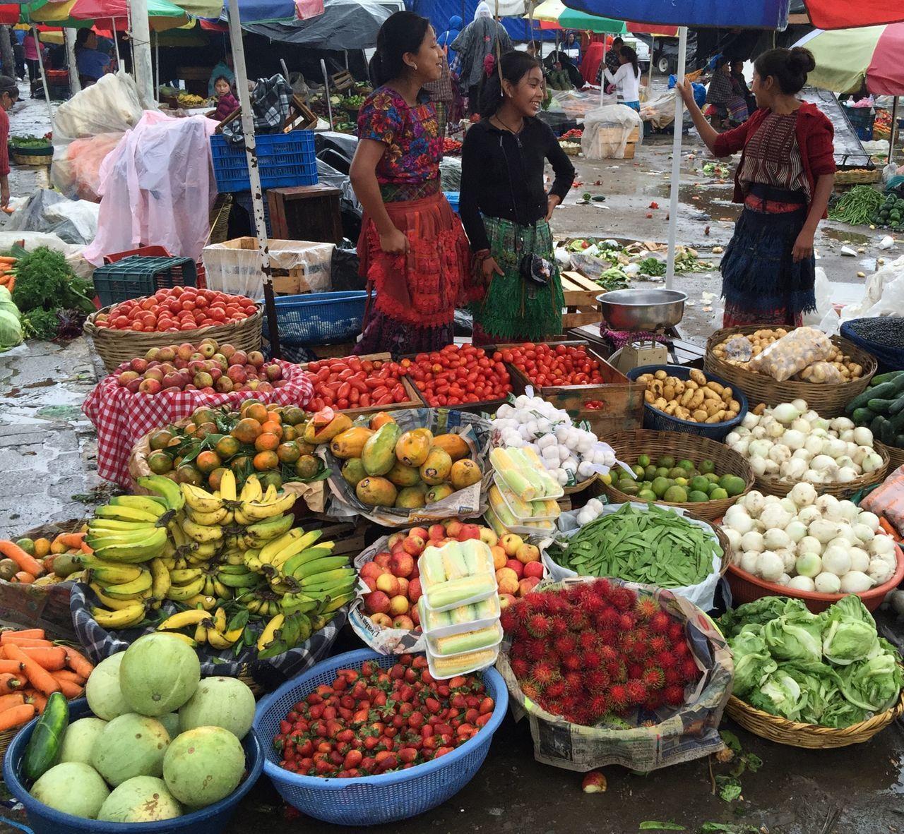 Chichicastenango Market Scene
