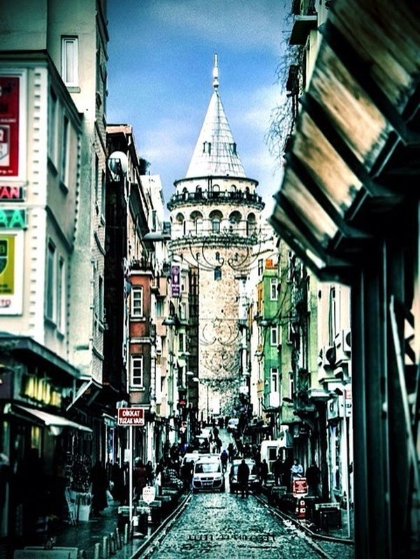 eye4photography  hot_shotz Hanging out streetphotography Taking pictures Historical Building Taking Photos Enjoying the View enjoying life galata kulesi by Tokyophone