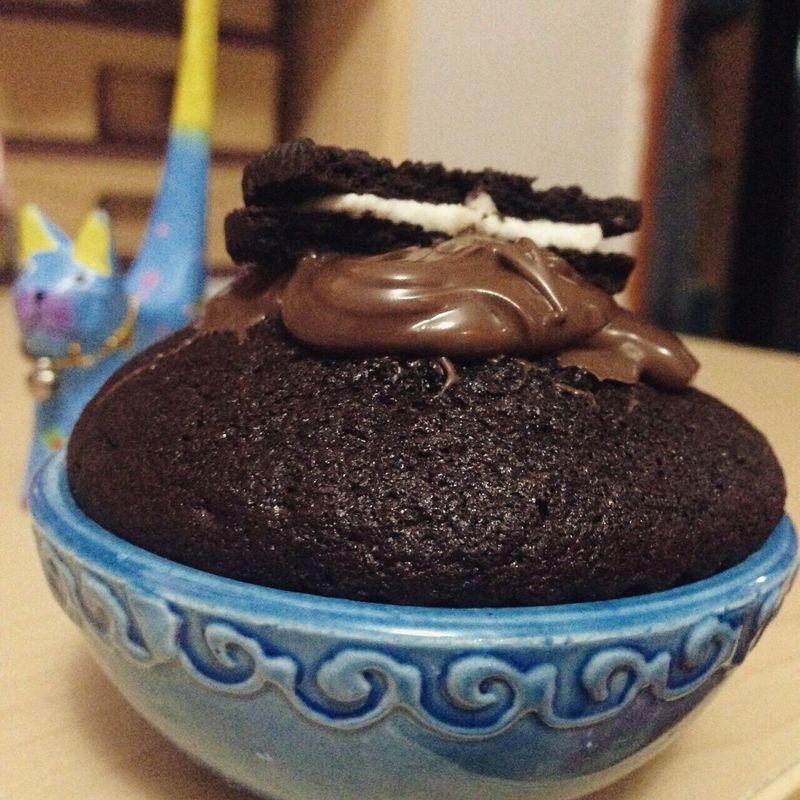 Yapması 35 dk, yemesi 2 sn 😂🙅🍨🍪🍇 Cupcake Oreo ♥ Oreo Cupcakes   Nutella Kakao