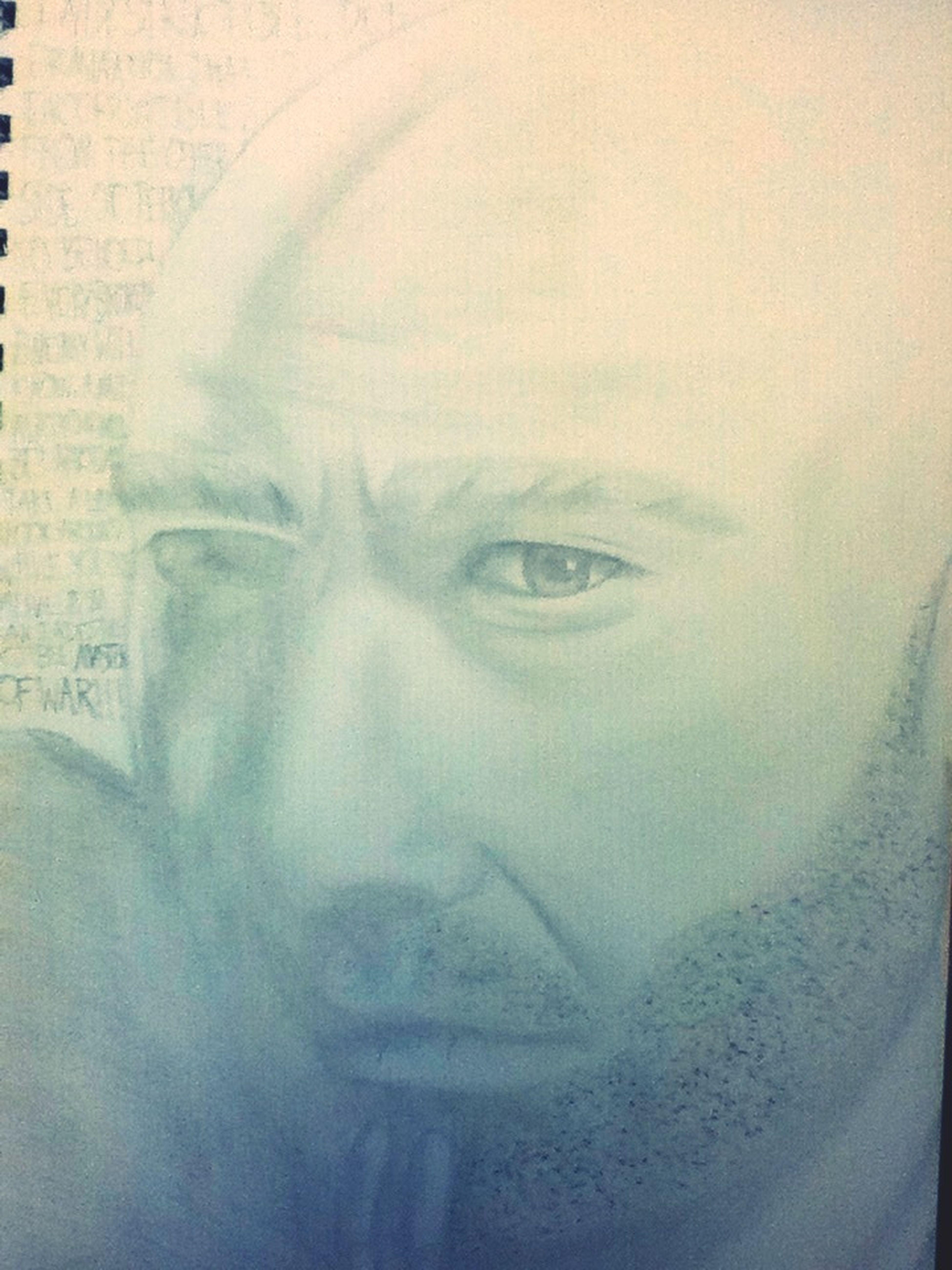 Portrait of David Draiman Art Drawing Metal \m/ Disturbed