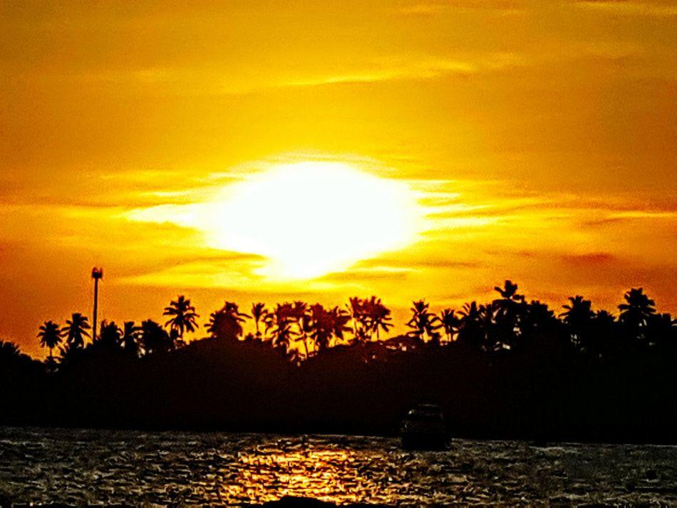 Sunset Nature Beauty In Nature Sun Sea