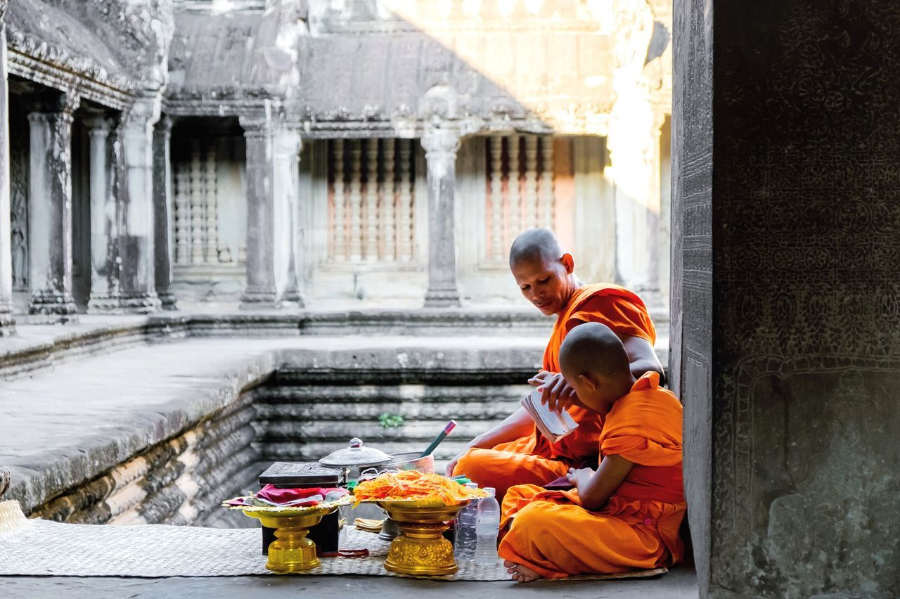 Moments from Asia trip Travel Photography Religion Buddhist Temple Cambodia Angkor Wat Travel Destinations Traveler Moment Learning ASIA Humans People Rituals Culture Culture And Tradition Rituals & Cultural Destination Temple Lonely Planet Experience My Year My View