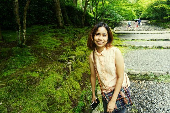 พอได้เที่ยวก็ยิ้มกว้างงงงงง Arashiyama Kyoto ทริปเปิ้ลกับเปิ้ล