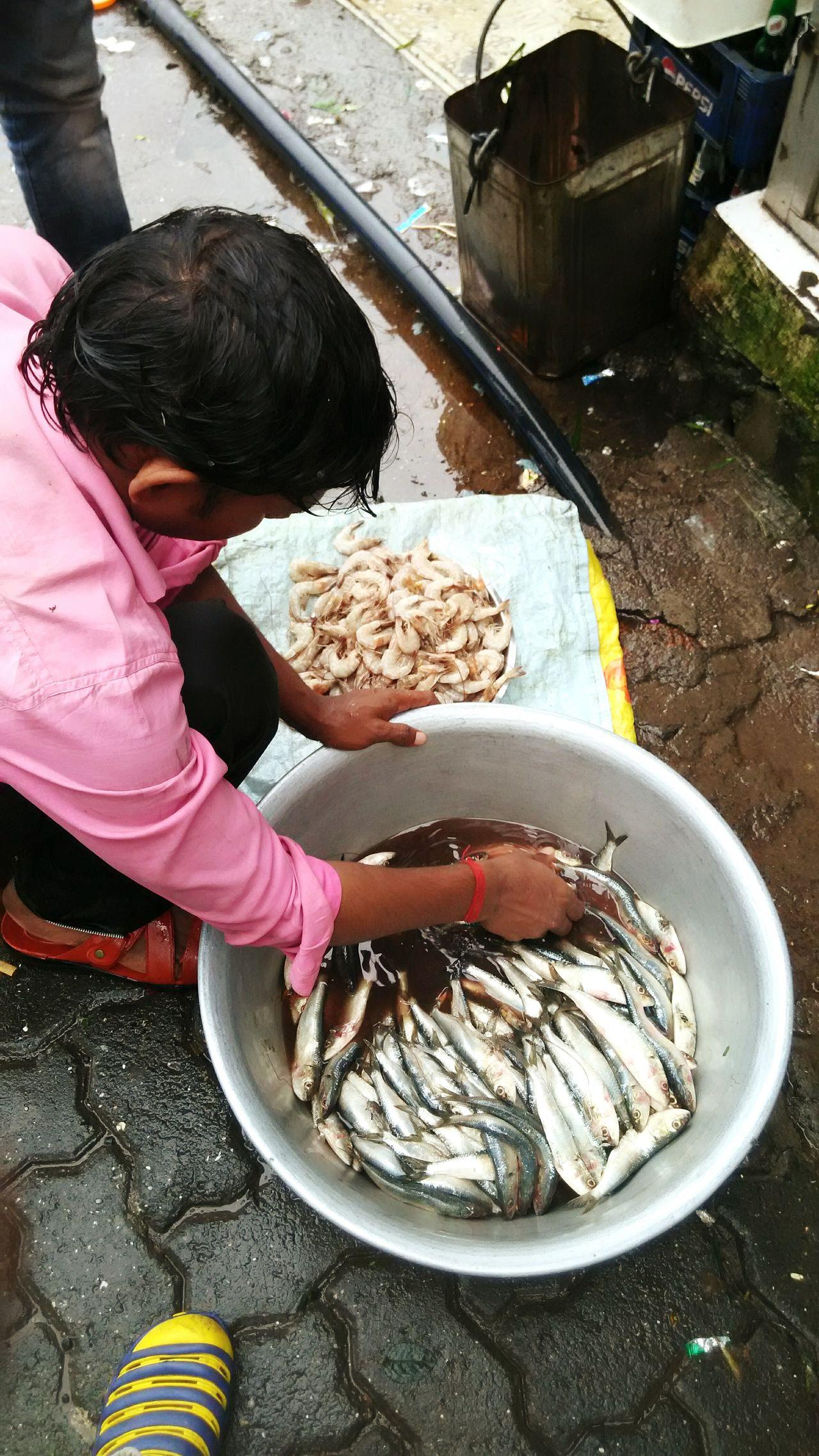 Fish Prawns