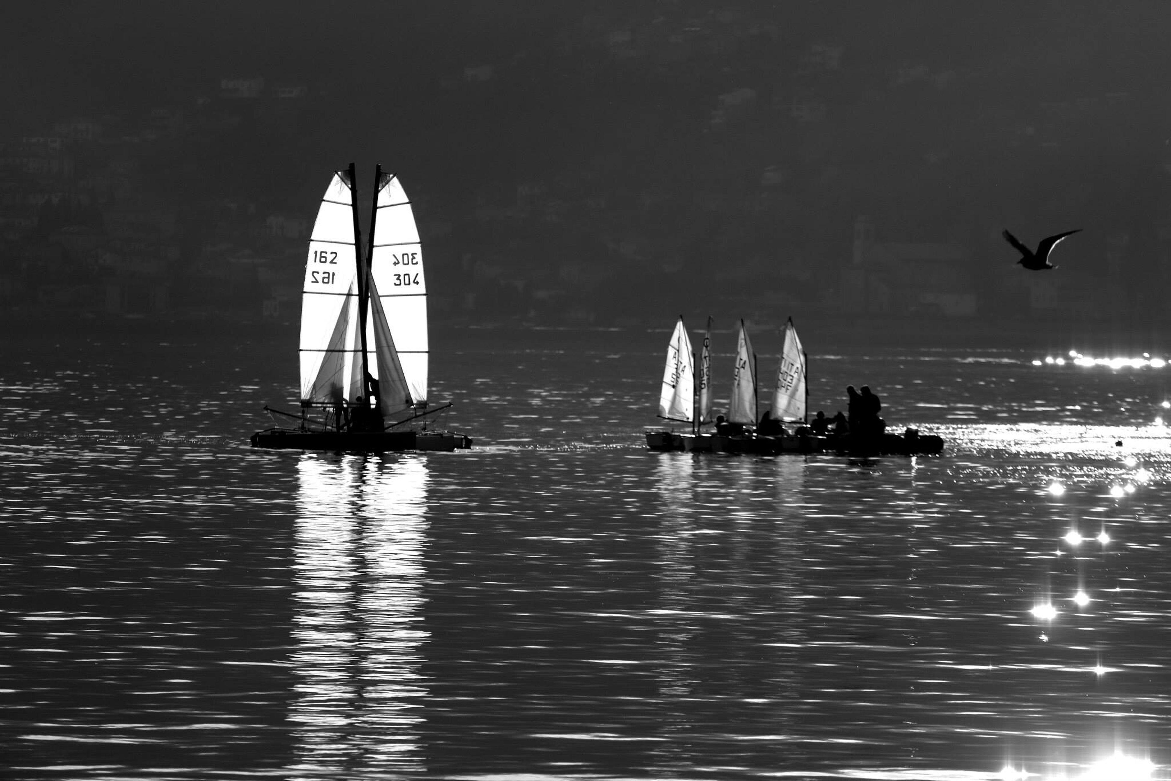 lago Backlight Italia Monochrome Blackandwhite