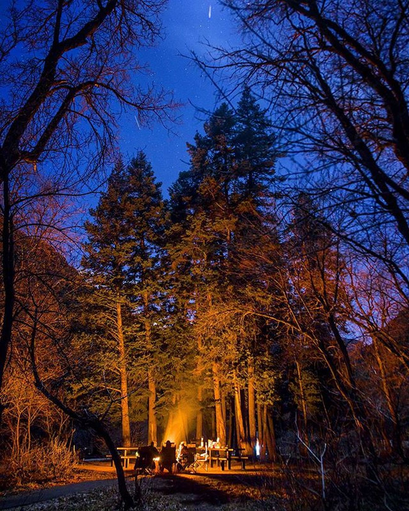 Here's to telling ghost stories under moonlit skies. My kind of Halloween party Halloween Ghoststories  Moonlight Skies Allhallowseve Campfire Campvibes Ghost Ghosthunting Halloweenparty Weekend Americanforkcanyon Fallnightsarethebest Campvibes