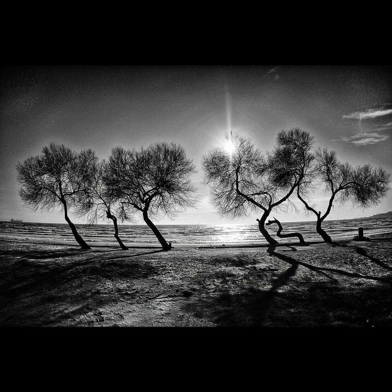 Monochrome Eyem Best Shots Black & White Siyah & Beyaz Ig_istanbul Sea And Sky Eyem Nature Lovers  @people Eyem Best Shots Nature_collection