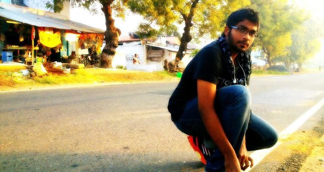 Hanging Out Enjoying Life That's Me trip to ma frnds hometown...