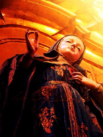 ArteSacro Borgiante Church Churches Divine Divinelight Sacredart Sacredart Virgen Virgin
