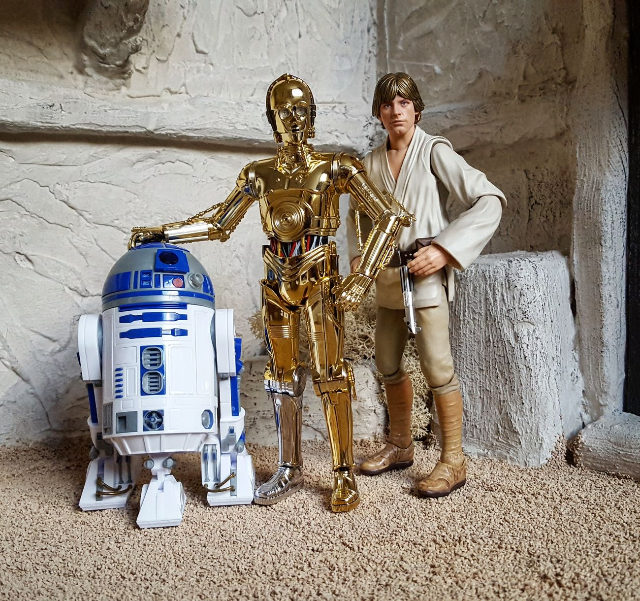 Starwars Bandaishfiguarts Lukeskywalker ToyphotographyStar Wars The Force Awakens Action Figures Bb8 Actionfigurephotography Toy Photography Obiwankenobi Toycommunity R2D2 C3po SHfiguarts Millenium Falcon Finn Chewbacca Star Wars Sandtrooper Anewhope Greedo Rogue One Starwarstoys DarthRevan