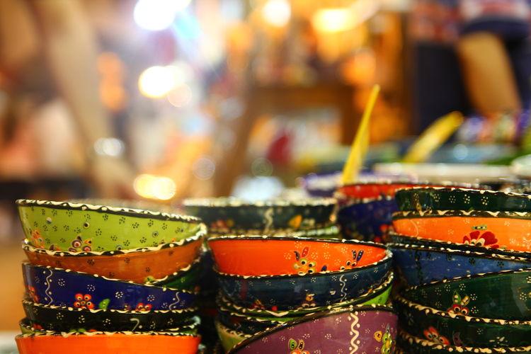 Bazaar Bowl Cute Decoration Istanbul Misircarsisi Multi Colored Variation