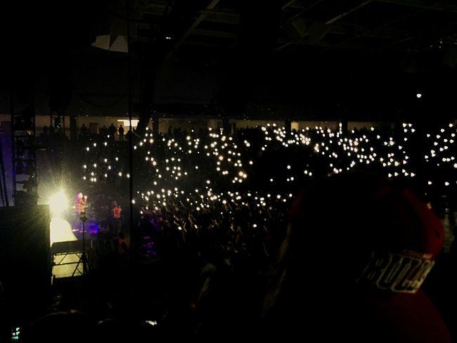 Macklemore & Ryan Lewis Concert Hanging Out