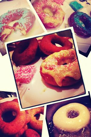 Donuts Homemade Food Perfection