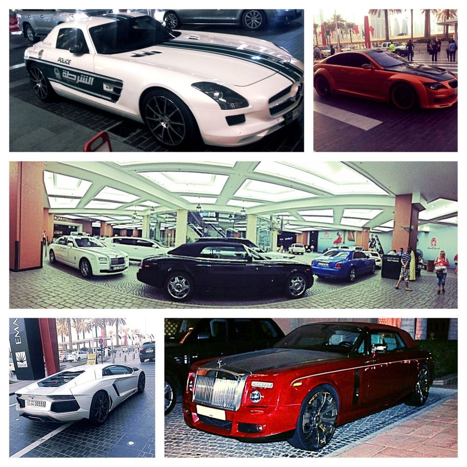 A Day in Dubai United Arab Emirates Car Mercedes Rolls Royce Fashion Check This Out Lamborghini Bmw