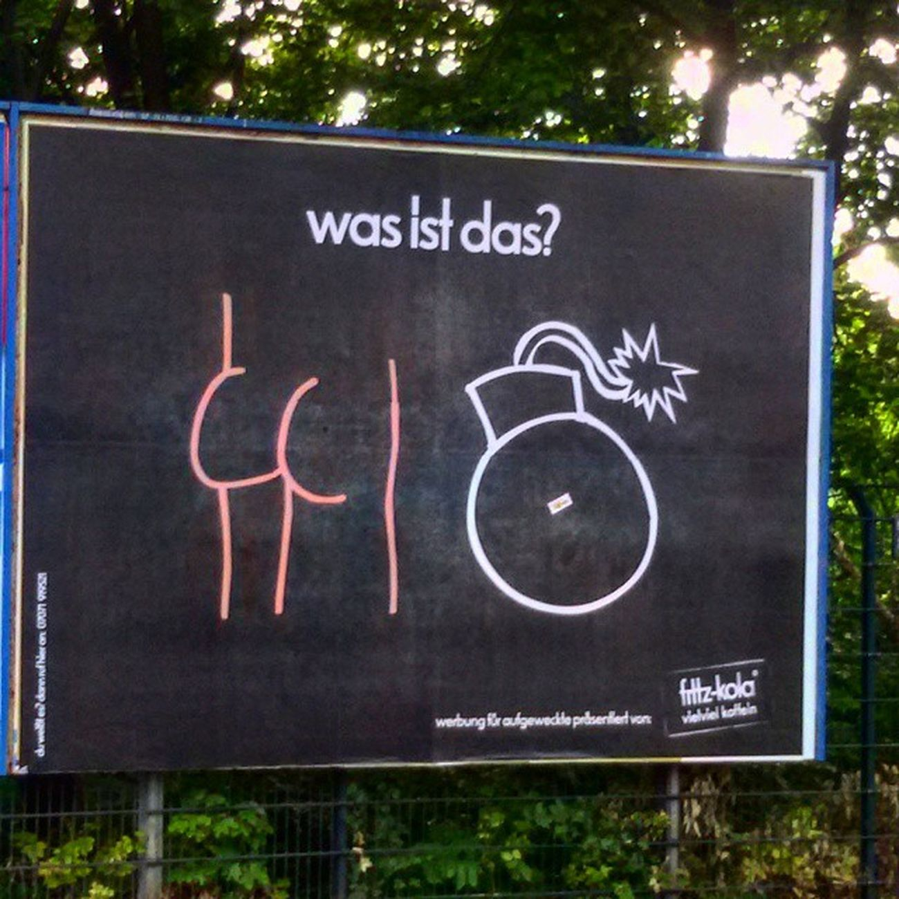 Berlin Street Advertising Wasistdas