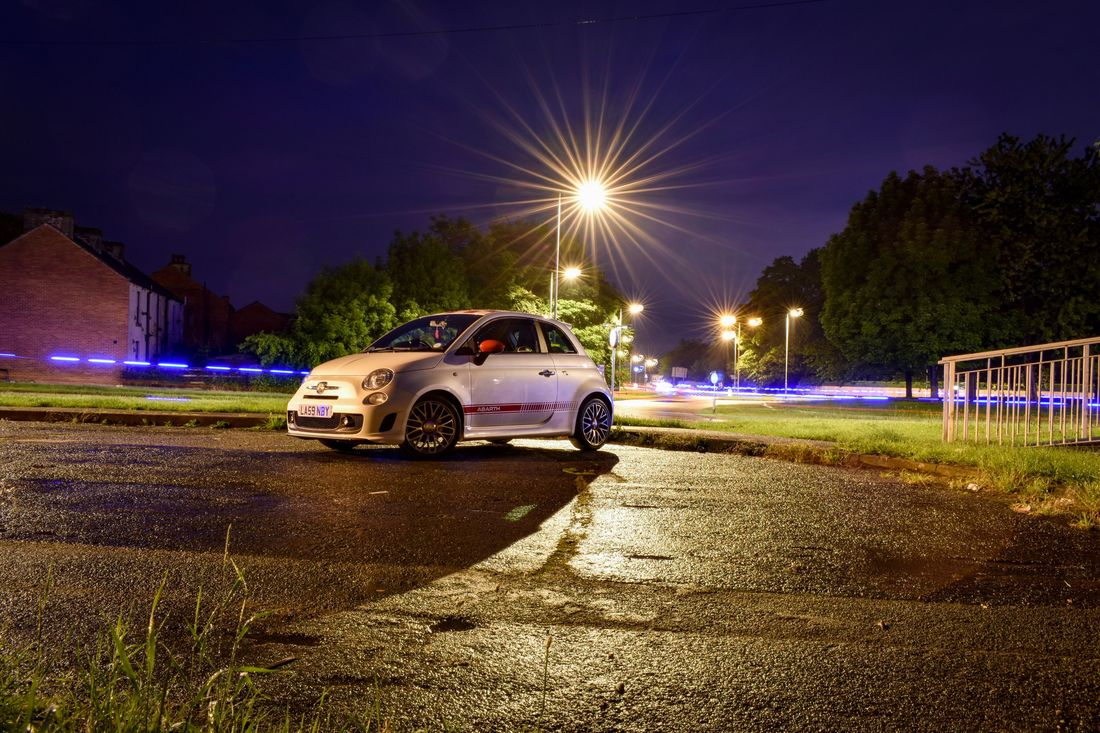 Car Night Illuminated Transportation Mode Of Transport Land Vehicle Lens Flare No People Outdoors Sky Long Exposure Open Shutter Abarth Cars Roundabout Ambulance Lights Nightshot Wakefield Nightphotography Emergency Abarth 500 Carphotography Nikon Manual Live For The Story