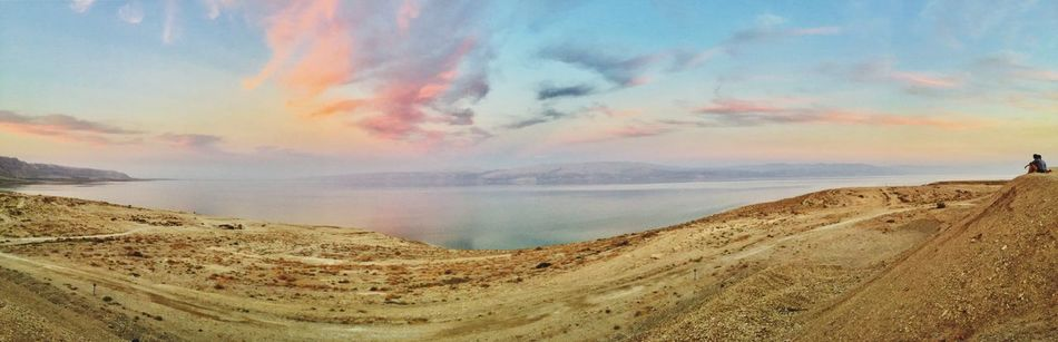 Sky Sea Nature Water Scenics Beauty In Nature Tranquil Scene Tranquility Cloud - Sky Outdoors No People Dead Sea  Day Mountain Scenery