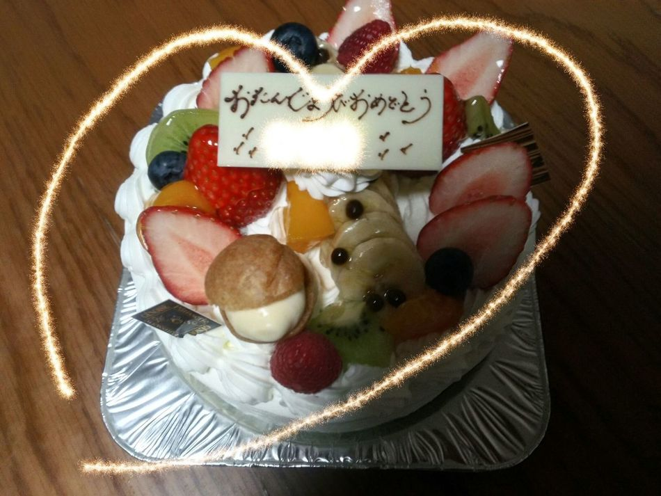 Food Food And Drink Sweet Food Freshness Japan Android Zenfone3 Asus Birthday Cake ケーキ 誕生日ケーキ
