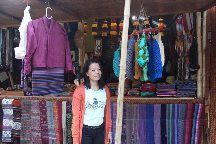 Fashion Dresses Live To Learn My Country In A Photo Bhutanese man-made enjoy the peace and happiness Asian Culture