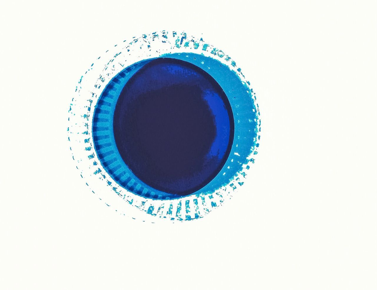 My design Blue And White Two Colors Two Is Better Than One Two Circles iRcles Create Art Design Color White Blues My Design A Bird's Eye View
