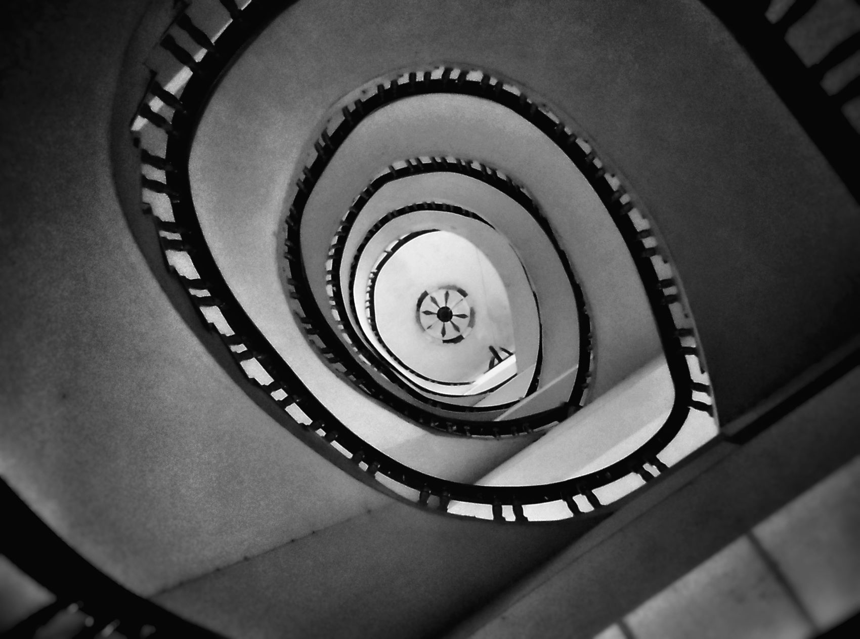 The Spiral Staircase. (Khulna, Bangladesh)- 21-4-2017 Staircase Spiral Steps And Staircases Railing Steps Spiral Stairs Built Structure Architecture Black And White StillLifePhotography StillLife No People Spiral Staircase EyeEm LOST IN London EyeEm Selects Breathing Space EyeEmNewHere The Street Photographer - 2017 EyeEm Awards Stairs People Street Lifestyles Brick Wall Architecture Minimal Composition