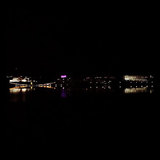 Stunning Canberra winter night