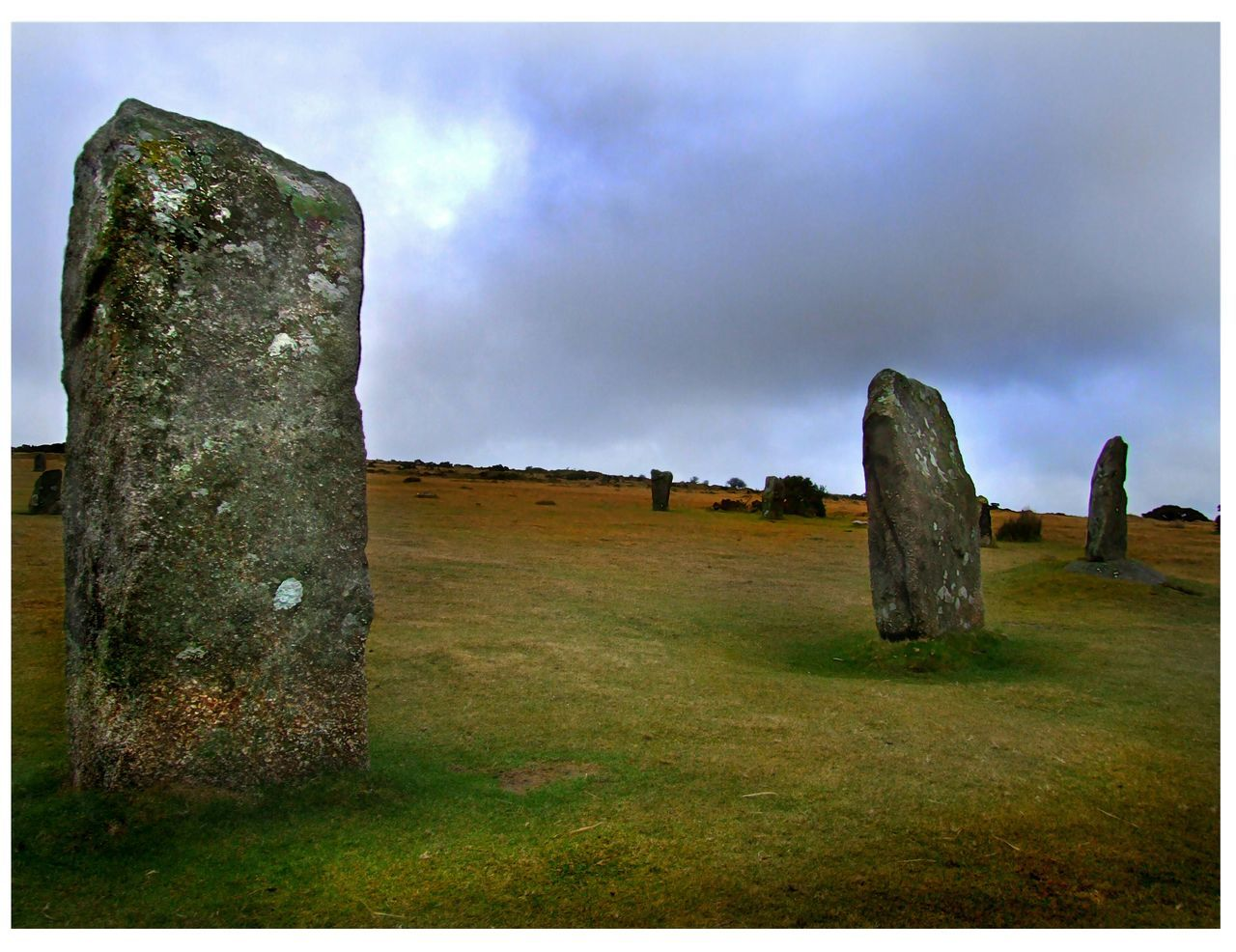 The Hurlers 3 The Hurlers Moors Rocks Ancient Monument Stone Circle Minions Cornwall Dramatic Bodmin Moor