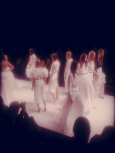kaviar gauche at Mercedes-Benz Fashion Week Berlin Kaviar Gauche