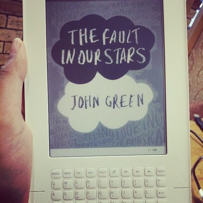 Procrastination at its best Thefaultinourstars Tfis Johngreen Book ebook ereader iriver procrastination