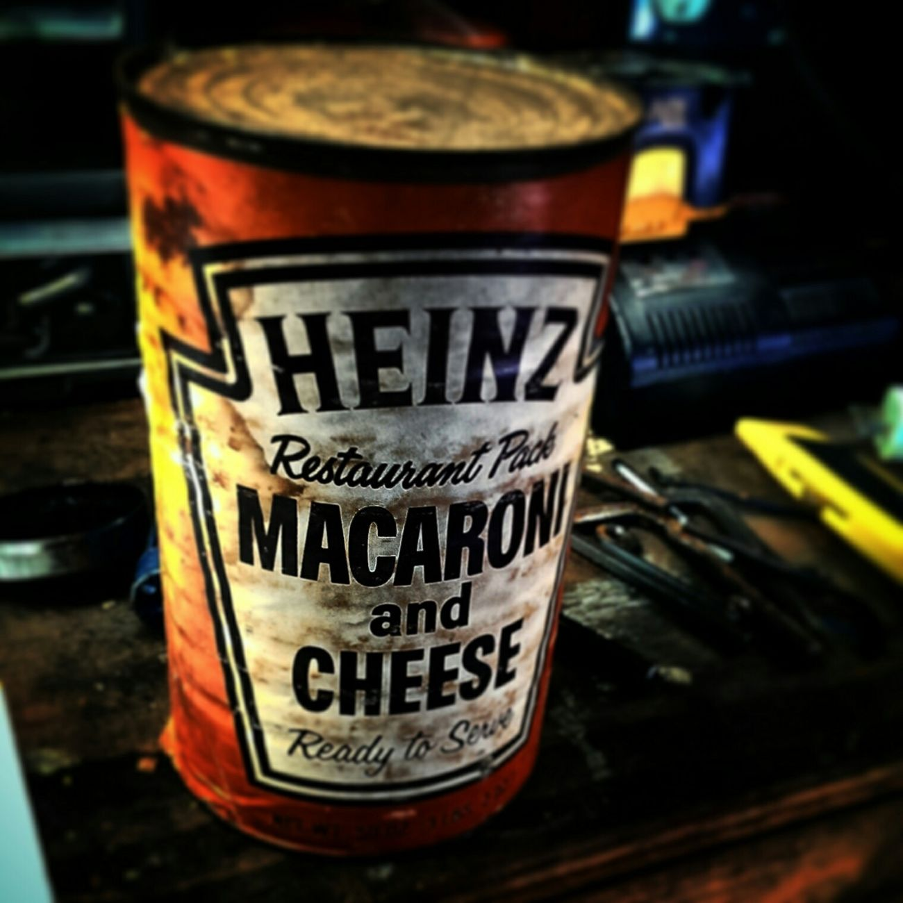 Beheinz the times. Old Food Mac N Cheese