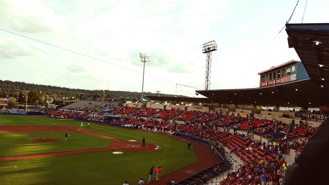 Baseball Cheering Like A Boss Home Run Urban Geometry Portrait Of America Americana Taking Photos Panorama Eye4photography