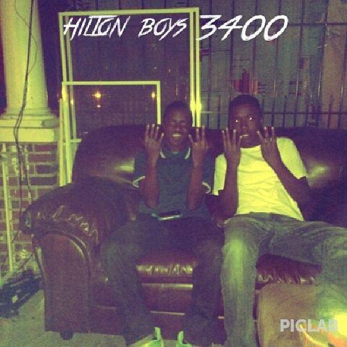 @3400sam & I we black af Hiltonboys 3400
