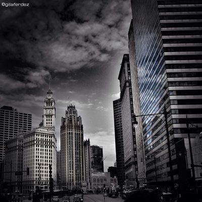 blackandwhite at Chicago by gilaferdez