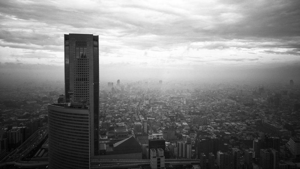Tokyo,Japan Skyscraper City Cityscape Black And White Blackandwhite Black & White Park Hyatt Tokyo