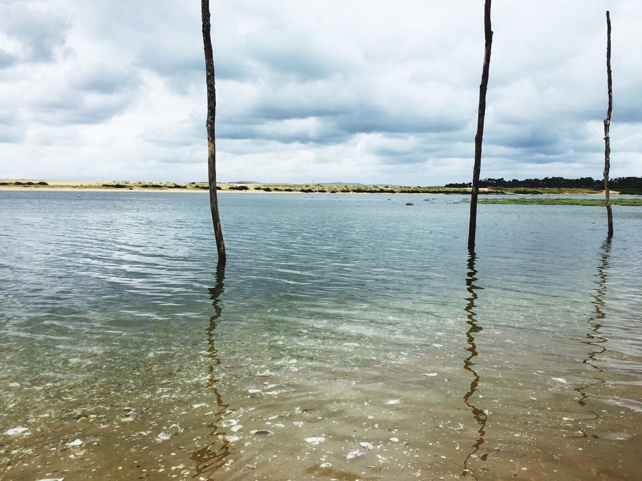 water, sky, tranquility, no people, cloud - sky, tranquil scene, nature, day, scenics, beauty in nature, outdoors, sea