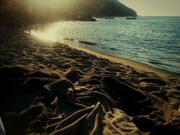 Sea Sunlight Beach Tranquility Enjoying The View Enjoying Life