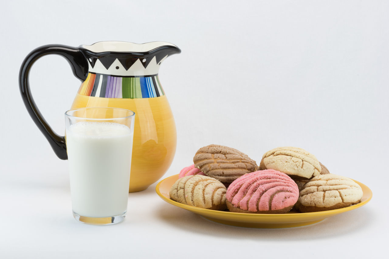 Bread Breakfast Freshness Indulgence Milk Multi Colored Pastry Ready-to-eat Snack Sweet Bread Sweets