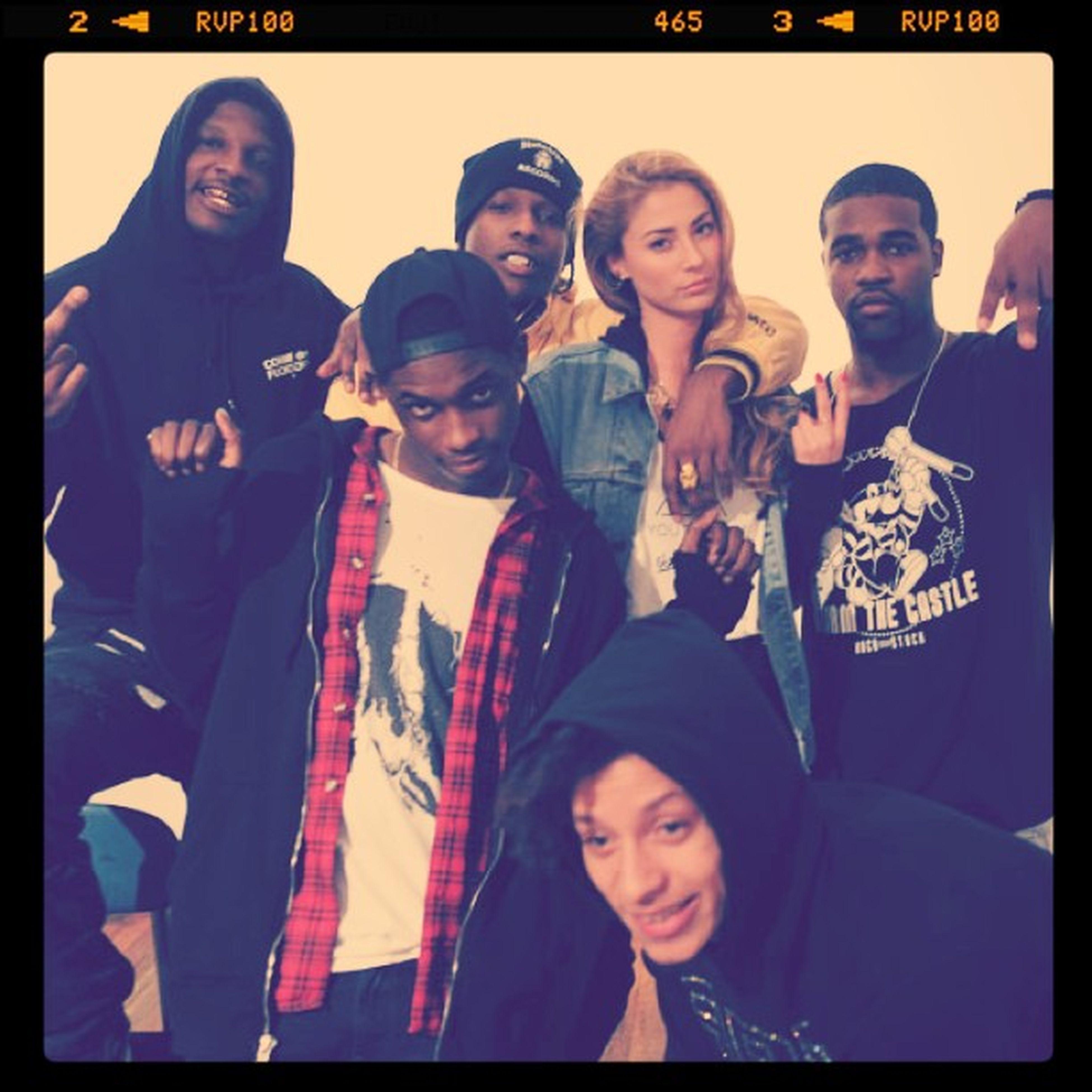 MakingOffVideoShoot AYS x asaprocky #prettymotherfuckers #crew #the88 #artyouthsociety #staygold with asap_relli asvpillz asvpxrocky #prettyflacko Crew Asaprocky Artyouthsociety Staygold Prettymotherfuckers The88 Prettyflacko