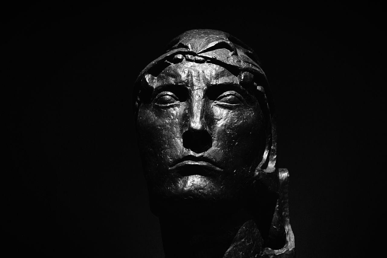 Black on black Open Edit Art Statue