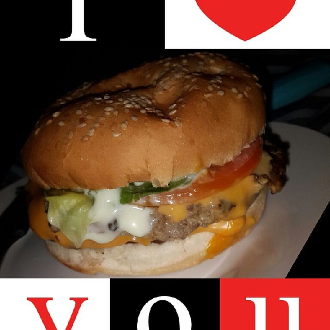 I will still love steers more.(burger king) .... Food Realgood Flamedgrilled Chilling