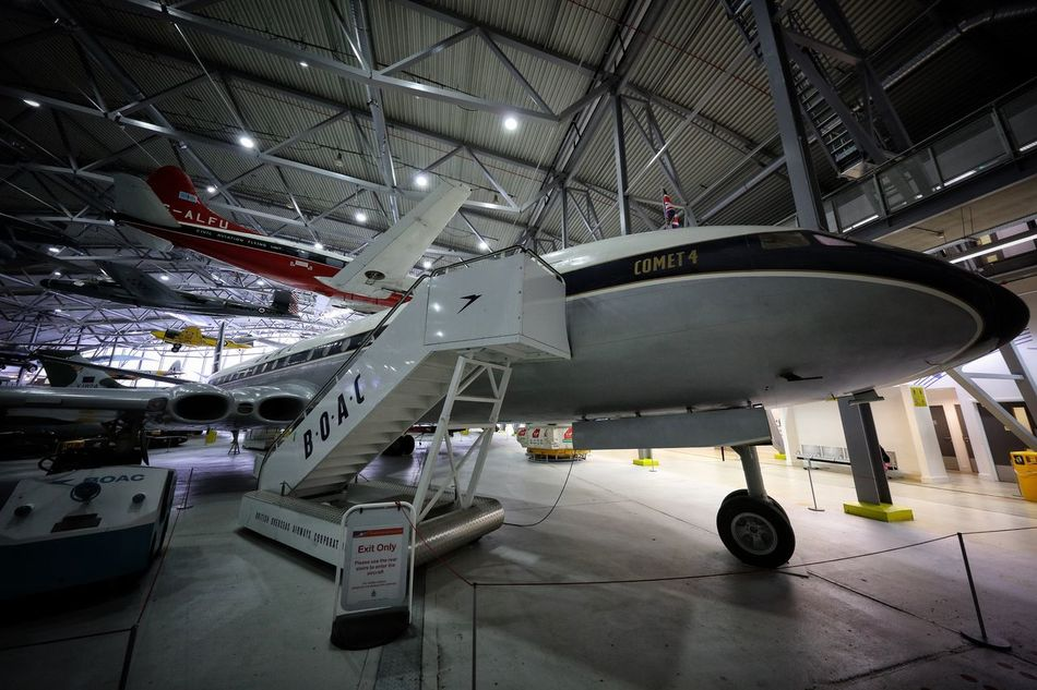Duxford Imperial War Museum Aerospace Industry Air Vehicle Airplane Airplane Hangar Airplane Mechanic Architecture Cocncorde Day DUXFORD AIR MUSEUM Duxford Imperial War Museum Indoors  Industry Mode Of Transport No People Stealth Technology Transportation