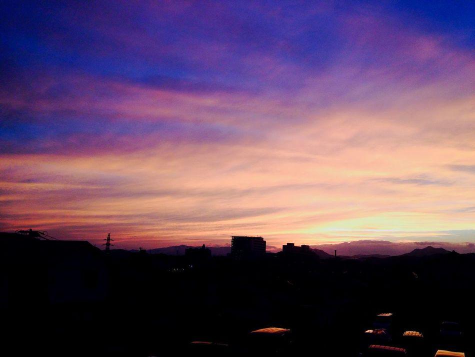 Sunset 夕焼け Today Beautiful Photo