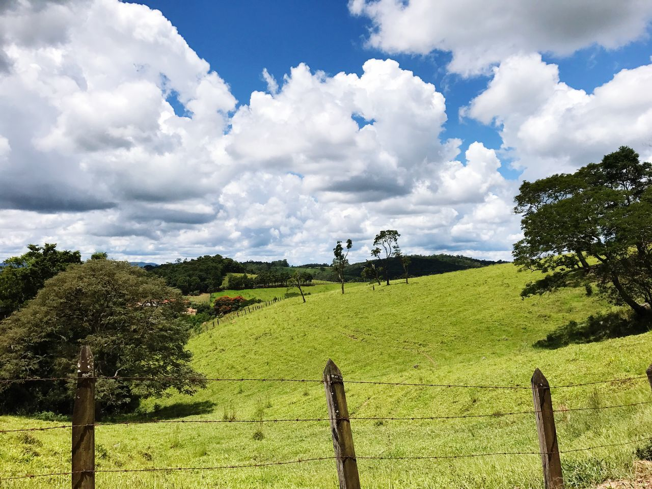 Sky Tree Nature Tranquility Landscape Day Rural Scene Peace Cloud - Sky Cloud Montains    Montain