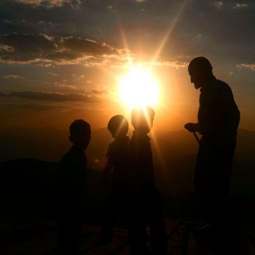 Sunset Nature Nemrut Sky